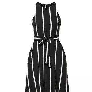 Banana Republic Women's Stripe Tie-Waist Dress